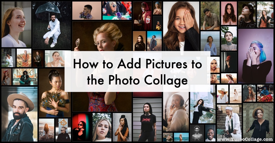 How to Add Pictures to the Photo Collage
