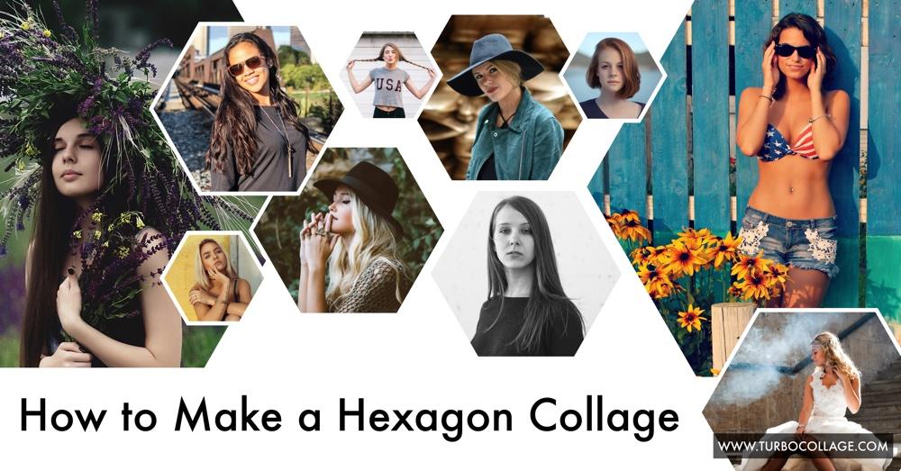 Make Hexagon Collage