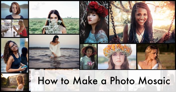 Make Photo Mosaic Collage