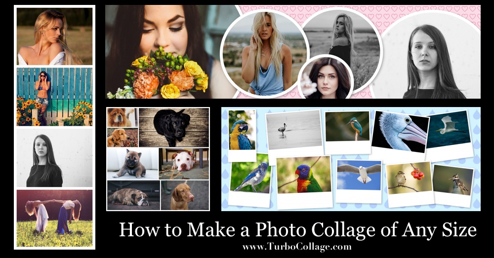 Make Photo Collage in Any Size