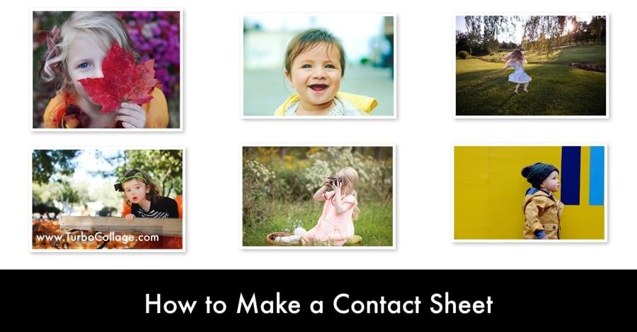 Make Contact Sheet