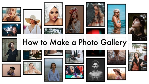 How to Make a Photo Gallery