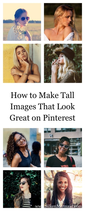 How to Make a Long Pinterest Pin Image
