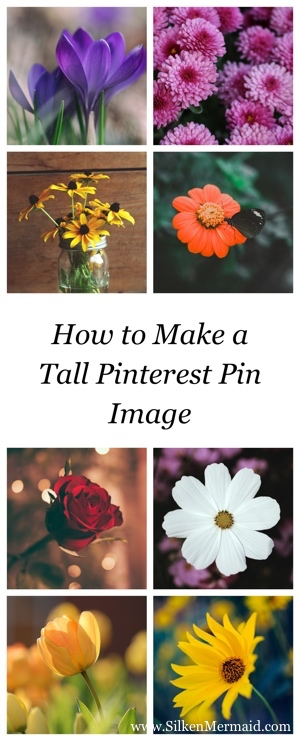 How to Make a Tall Pinterest Pin Image