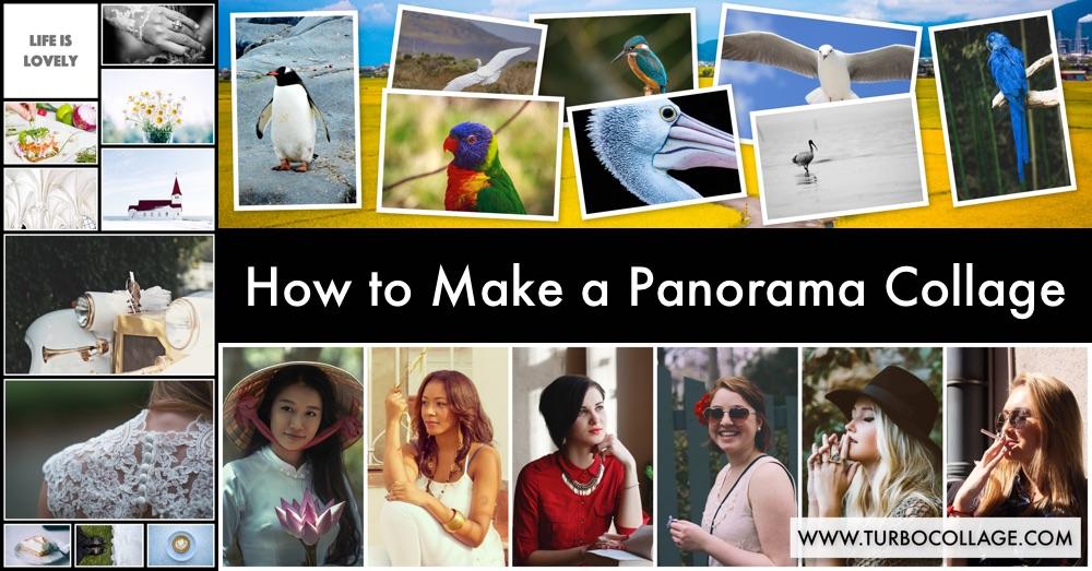 Make Panorama Collage