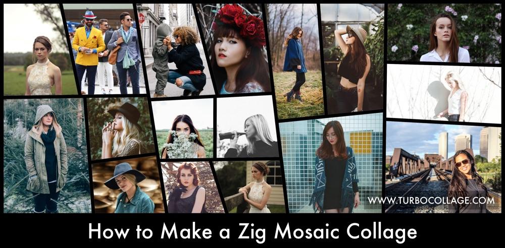Make Zig Mosaic Collage