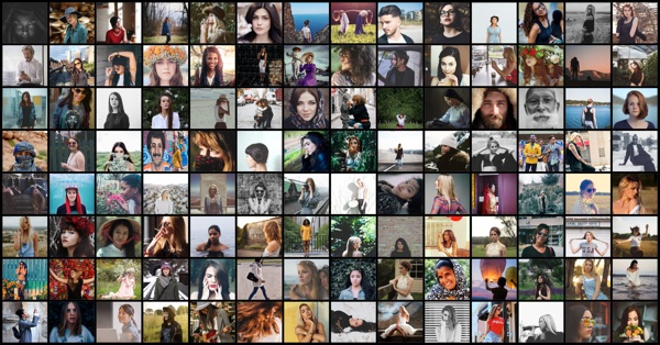 Make a 100 Picture Collage