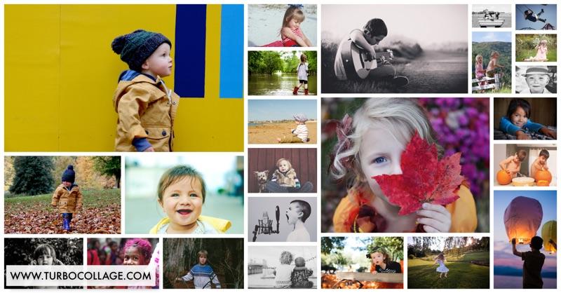 Make a Photo Mosaic Collage