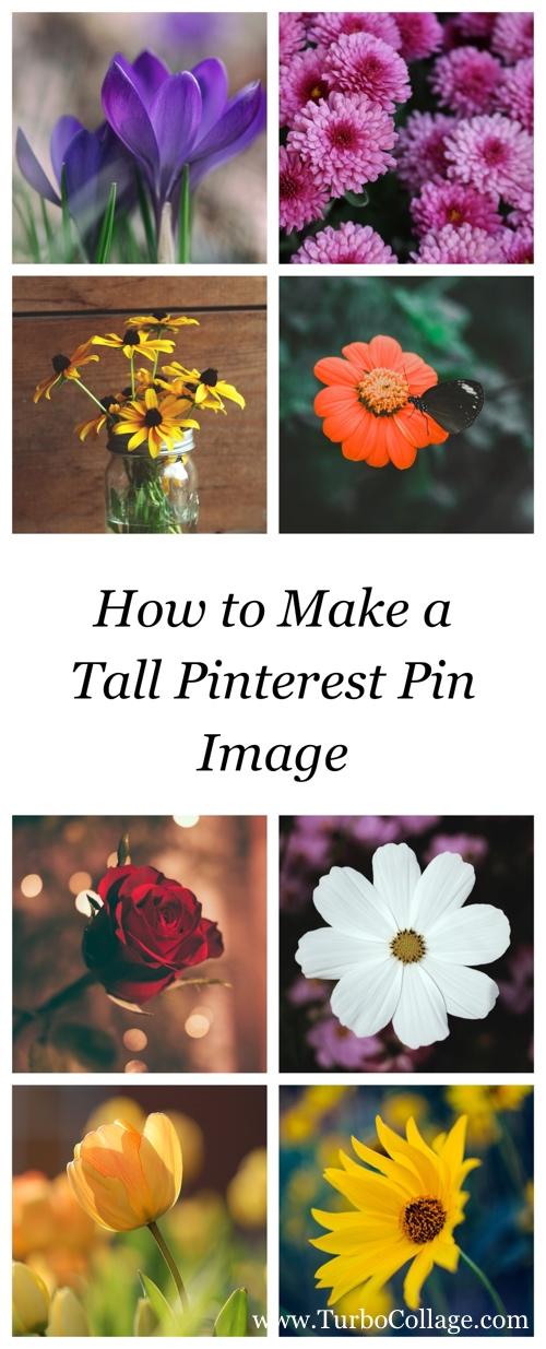 Make a Tall Pinterest Image