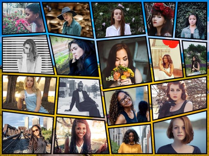 Make a Zig Mosaic Collage
