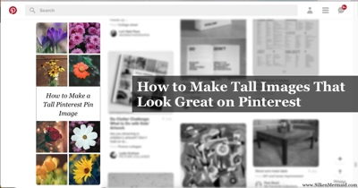 Make Tall/Long Pinterest Images