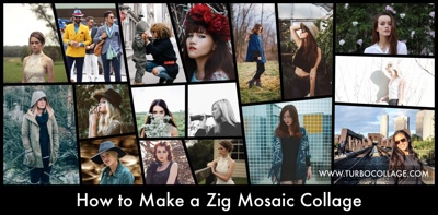 Zig Mosaic Collage
