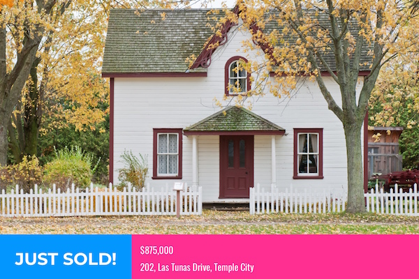 House Just Sold Graphic
