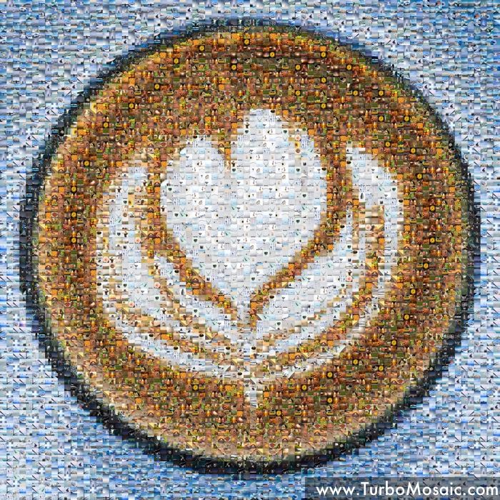 Coffee Cup Photo Mosaic