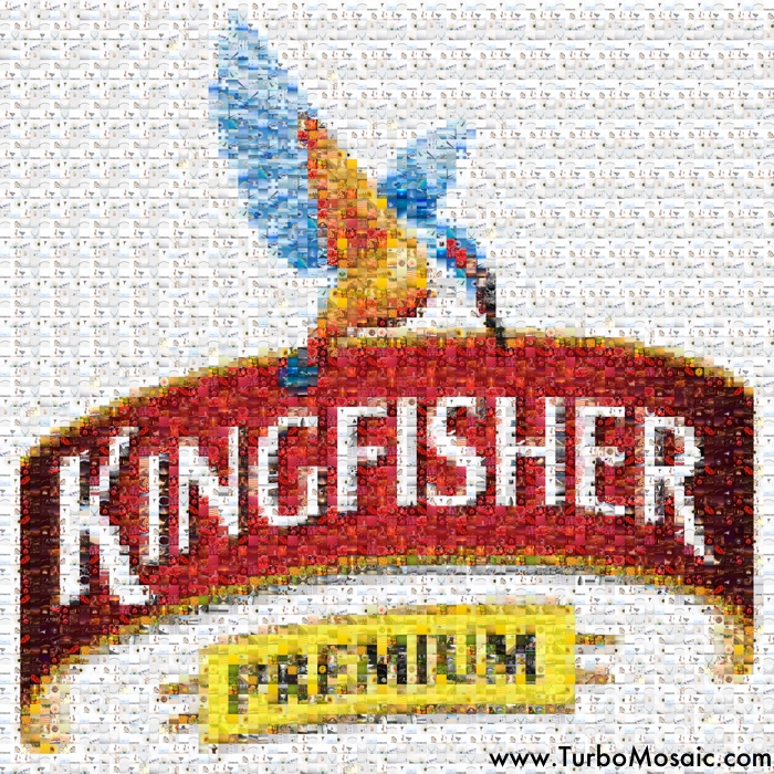 Photo Mosaic of a Logo
