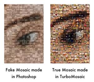 Photo Mosaic in Photoshop - Fake Mosaics