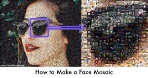 Make a Face Mosaic
