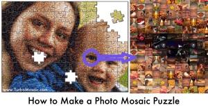 Make a Personalised Photomosaic Puzzle
