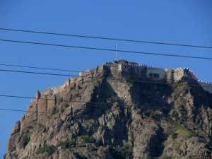 Karahisar Castle in Afyon