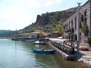 Assos, close to Dardanelles, hosted several civilizations during its four thousand year history