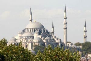 Blue Mosque (Sultanahmet Mosque) in Istanbul