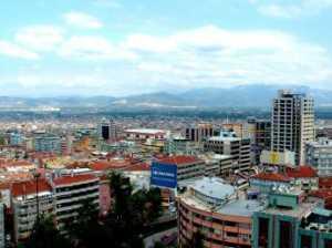 Bursa cityscape