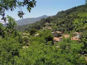 View of Buldan, Denizli