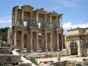 Ancient Celcius Library in Ephesus