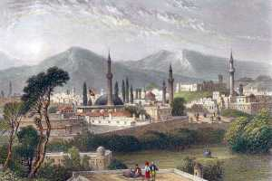 An old miniature depicting Erzurum