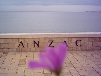 Memorial for Anzac soldiers that have died during the invasion of Gallipoli