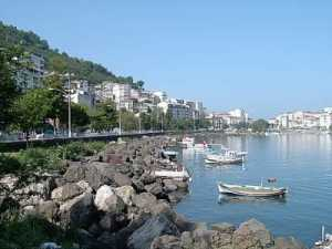 View of Tirebolu, Giresun