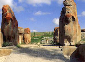 Lion Gate in Hattusas