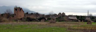 Ruins of a historical castle close to Iznik