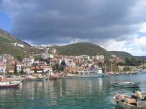Kas is a small and lovely coastal town in southern Turkey