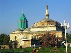 Mevlana Rumi Museum in Konya