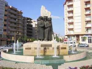 Statues of Ottoman Emperors in Manisa