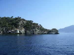 Mountains by the Marmaris coast