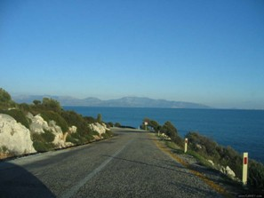Coastal road between Myra and Kas