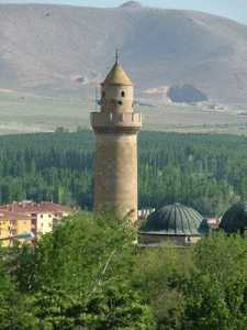 Seljuk built Alaeddin Mosque in Nigde, built in 1203