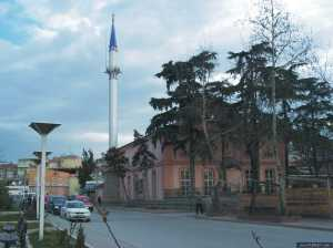 A mosque in Adapazari, Sakarya