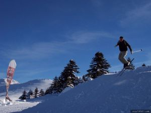 Uludag is the most popular skiing destination in Turkey
