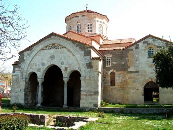 Historical Ayasofya (Hagia Sophia) Church in Trabzon