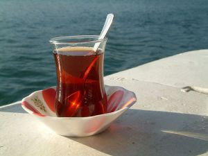 Turkish tea in these special cups has a very important place in daily life in Turkey