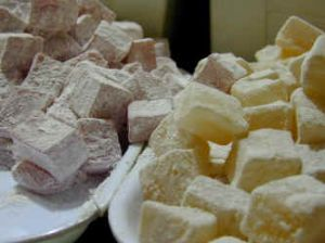 Turkish delight is one of the items visitors like to take back home as a gift