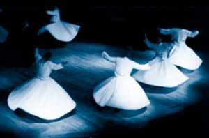 Whirling Dervishes performing their ritual
