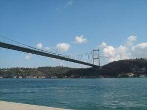 Fatih Sultan Mehmet Bridge in Istanbul