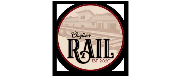 Clayton's Rail Logo