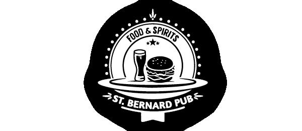 St. Bernard Pub Logo