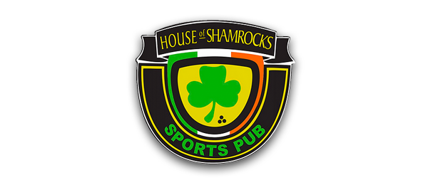House of Shamrocks Sports Pub Logo