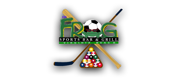 The Frog Sports Bar & Grill Logo